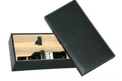 caja verde obscuro